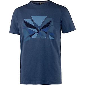 SALEWA Frea Eagle Printshirt Herren navy