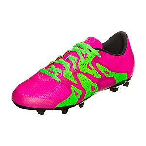 adidas X 15.3 Fußballschuhe Kinder pink / neongrün