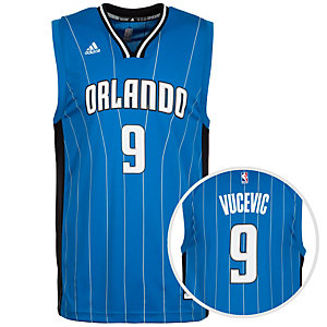 adidas Orlando Magic Vucevic Replica Basketball Trikot Herren blau / schwarz