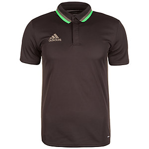 adidas Condivo 16 CL Poloshirt Herren braun / grün