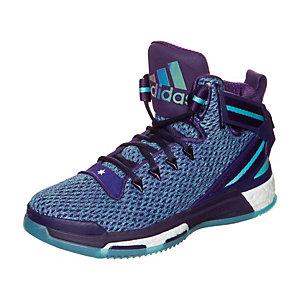 adidas Derrick Rose 6 Boost Basketballschuhe Kinder lila / hellblau