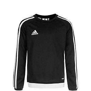 adidas Estro 15 Funktionsshirt Kinder schwarz / weiß