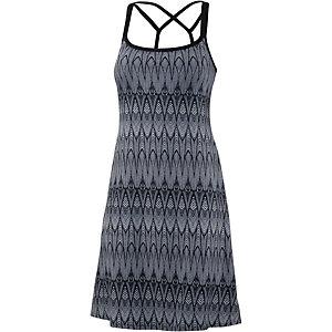 prAna Cora Minikleid Damen schwarz/grau