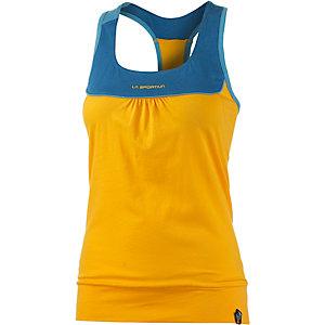 La Sportiva Momentum Tanktop Damen gelb/blau