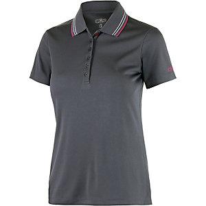 CMP Poloshirt Damen grau