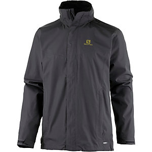 Salomon Elemental Outdoorjacke Herren grau