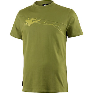 Mountain Equipment Roof Crack Printshirt Herren grün