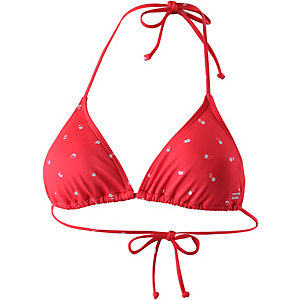 Billabong Sol Searcher Bikini Oberteil Damen rot/allover