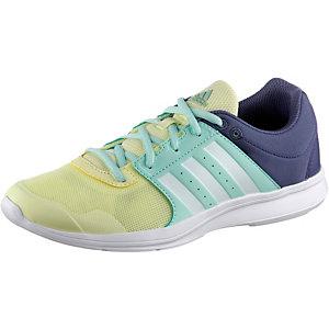 adidas Essential Fun 2 Fitnessschuhe Damen hellgelb/mint/blau