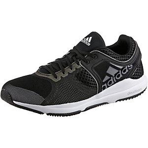 adidas Edge Trainer Cloudfoam Fitnessschuhe Damen schwarz/weiß