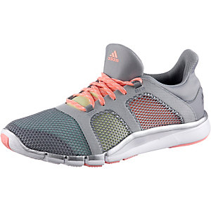 adidas Adipure Flex Fitnessschuhe Damen hellgrau/bunt