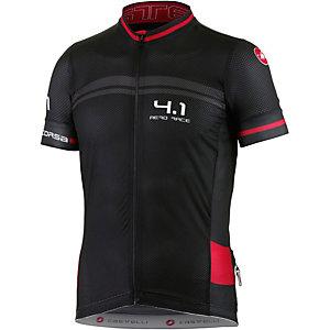 castelli Free AR 4.1 Fahrradtrikot Herren schwarz/rot