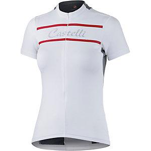 castelli Promessa Fahrradtrikot Damen weiß