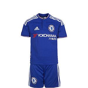 adidas FC Chelsea Minikit Home 15/16 Fußballtrikot Kinder blau / weiß / rot