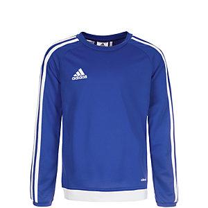 adidas Estro 15 Funktionsshirt Kinder blau / weiß