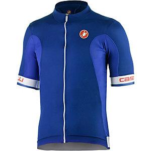 castelli Volata Fahrradtrikot Herren blau/weiß