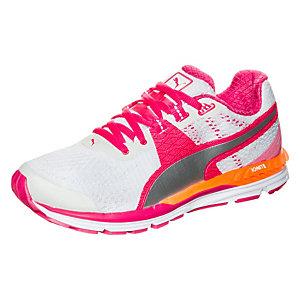 PUMA Speed 600 Ignite Laufschuhe Damen weiß / pink / silber