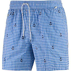 Polo Ralph Lauren Traveler Swim Badeshorts Herren blau/weiß