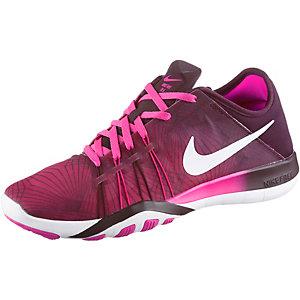 Nike Free TR 6 Print Fitnessschuhe Damen pink/schwarz