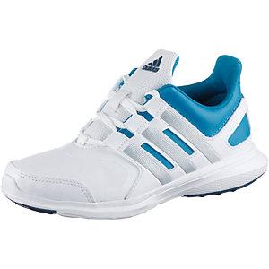 adidas Hyperfast 2.0 Hallenschuhe Kinder blau/weiß