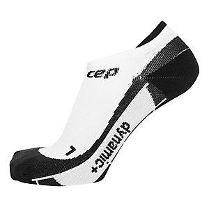 CEP No Show Socks Laufsocken Damen weiß / schwarz