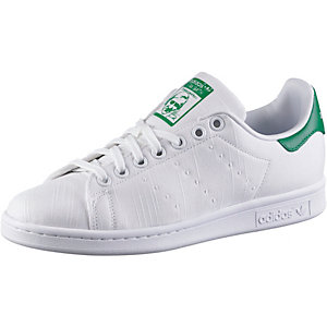 adidas Stan Smith W Canvas Sneaker Damen weiß/grün