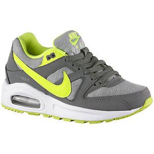 Nike AirMax Command Flex Sneaker Jungen grau/neongrün