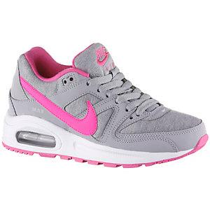 Nike AirMax Command Flex Sneaker Mädchen grau/korall