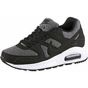Nike AirMax Command Flex Fitnessschuhe Jungen schwarz/grau