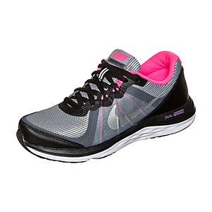 Nike Dual Fusion X 2 Laufschuhe Kinder schwarz / grau