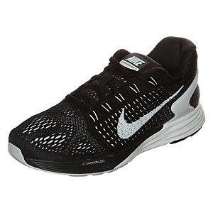 Nike Lunarglide 7 Laufschuhe Damen schwarz / weiß