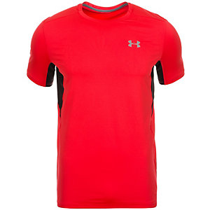 Under Armour CoolSwitch Run Laufshirt Herren rot / schwarz