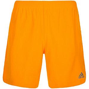 adidas Supernova Laufshorts Herren orange