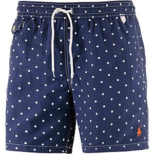 Polo Ralph Lauren Traveler Swim Badeshorts Herren marine/weiß