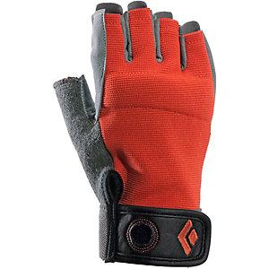Black Diamond Crag Half-Finger Fingerhandschuhe Herren rot