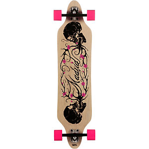 Madrid Twisted Longboard-Komplettset braun