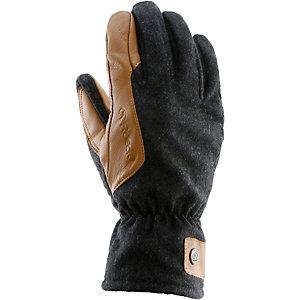 Roeckl Kankari Fingerhandschuhe grau/schwarz