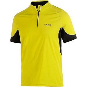 Gore X-Running Laufshirt Herren gelb/schwarz