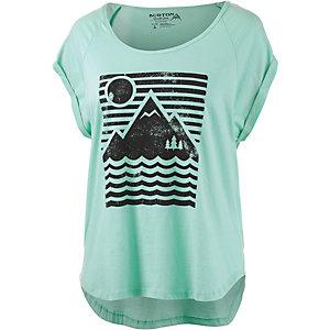 Burton Mountain Sun T-Shirt Damen mint