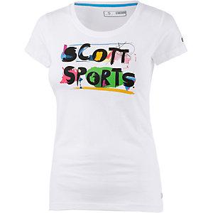 SCOTT 5 Casual Printshirt Damen weiß