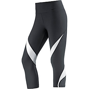 Nike Power Legend Tights Damen schwarz/weiß