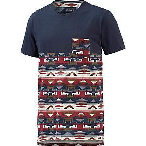 O'NEILL 37 Degrees North T-Shirt Herren blau/rot/beige