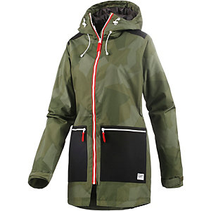 Colour Wear Isy Snowboardjacke Damen grün