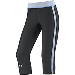 Under Armour Heatgear Tights Damen schwarz/blau