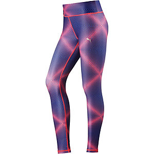 PUMA All Eyes On Me Tights Damen royal/orange