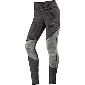 PUMA Tights Damen schwarz/grau