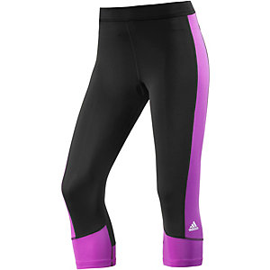 adidas Techfit Tights Damen schwarz/lila