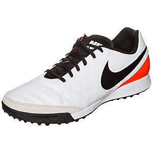Nike Tiempo Genio II Leather Fußballschuhe Herren weiß / schwarz