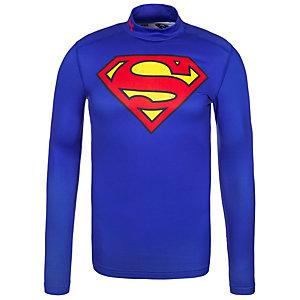 Under Armour ColdGear Superman Alter Ego Funktionsshirt Herren blau / rot / gelb