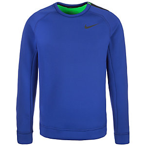 Nike Thermasphere Max Crew Sweatshirt Herren blau / grün